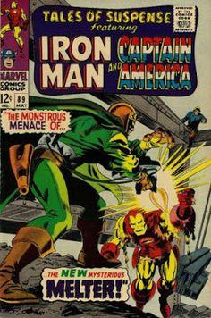 Tales of Suspense #89, Iron Man vs the Melter