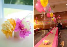 How to make a floral balloon weight