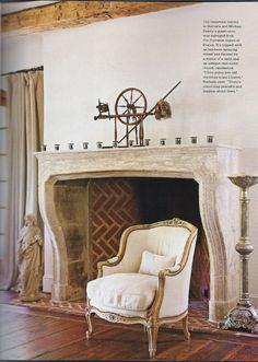 Veranda, Touches of Europe, by Eleanor Cummings     When you think of room decor do you turn to God? To the legends of angels and all t...