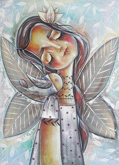 Angel Guide, Angel Cards, Joy And Happiness, Card Reading, Art Drawings, Whimsical, Original Paintings, Princess Zelda, Artist