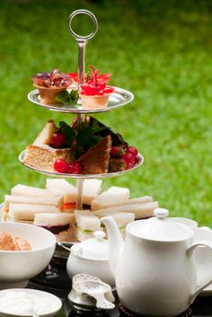 Afternoon Tea at the Gemellli Estate