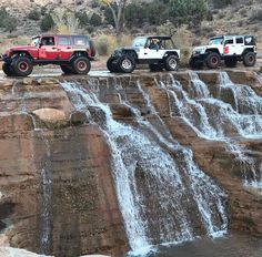 Looks like a great way ti spend a Holiday weekend from Jeep Wrangler Rubicon, Jeep Tj, Jeep Wrangler Unlimited, Jeep Wranglers, Jeep Cars, Jeep Truck, Badass Jeep, Offroader, Jeep Pickup