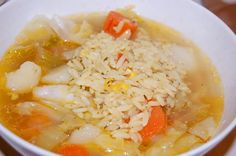 Caldo de Pollo (Chicken Soup) - Newlyweds