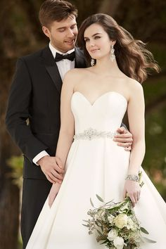 The Pearl Mikada bridal gown from Essense of Australia - too gorgeous!