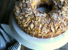 Pumpkin Chocolate Chip Coffee Cake - noblepig.com