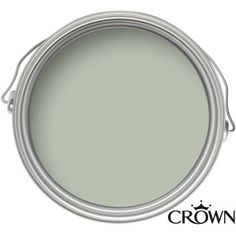 Crown Mellow Sage Matt Emulsion Paint at Homebase Be inspired and make - How To Buy A Home? Ideas of How To Buy A Home. - Crown Mellow Sage Matt Emulsion Paint at Homebase Be inspired and make your house a home. Buy now. Hallway Colours, Room Colors, Wall Colors, House Colors, Crown Paint Colours, Living Room Kitchen, My Living Room, Living Room Decor, Kitchen Wood