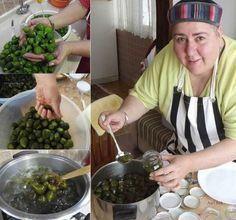 Fig Jam with Raw Skin (Raw, Male and Un-Fig) - Nurdan Ç . Kabuğuyla Yeşil İncir Reçeli (Ham, Erkek ve de Olmamış İncir) - Nurdan Ç. Fig Jam with Raw Rind (Raw, Male and Un-Fig) - Nurdan Çakır Tezgin English Cake Recipe Using Buttermilk, Healthy Eating Tips, Healthy Nutrition, Green Fig, Macedonian Food, Fig Jam, Tasty, Yummy Food, Vegetable Drinks