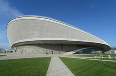 Ice Palaces of Sochi -- Adler Arena http://architecture.about.com/od/europ1/ss/Ice-Palaces-in-Sochi-Russia_5.htm#step-heading