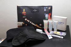 Qantas Kate Spade & Jack Spade Amenity Kits