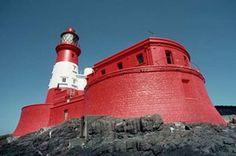 Longstone lighthouse, Farne Islands, Northumberland.