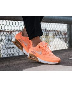 08d29681495455 Nike Air Max 90 Trainers In Sunset Glow Cheap Nike Trainers