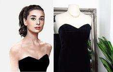 Audrey Hepburn Style, Black Velvet Dress, Old Hollywood Glamour, Vintage Velvet, Wiggle Dress, 1950s Fashion, Vintage Dresses, Prom Dresses, Beautiful
