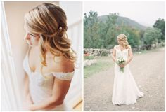15 Romantic Bridal Hairstyles - How you are going to wear your hair on your wedding day? If you are having an outdoor wedding and want something romantic