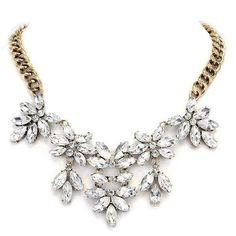 Clustered Petal Necklace
