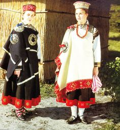 traditional costume from Latvia