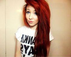 33 Best Little Mermaid Hair Images Colorful Hair Red Hair