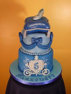 Cinderella cake, I like the bottom layer