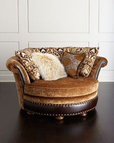 Harlow Cuddle Chair by Haute House at Neiman Marcus. $3400 ...