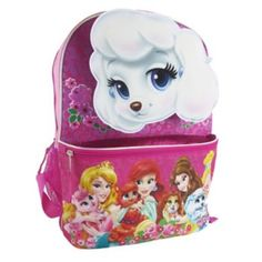 2644fd8ab4a Disney Princess Palace Pets Backpack - Kids Disney Princess Backpack