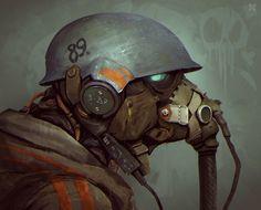 "sekigan: "" Helmet by DeadSlug on DeviantArt """