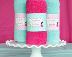 Spa Party Decorations Instant Download Spa Birthday Party
