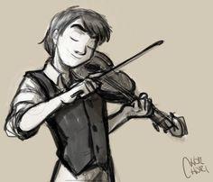 Alexander Rybak's sketch by chorchori.deviantart.com on @DeviantArt