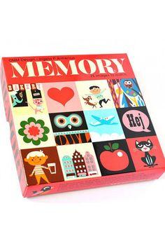 Ingela P Arrhenius Memory Game by OMM Design   the KID who
