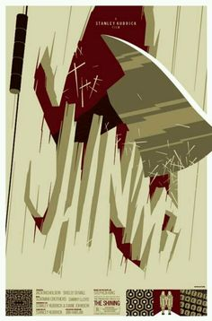 """""""The Shining"""" A Stanley Kubrick Film, Alternative Poster Illustration by Tom Whalen (b. Horror Movie Posters, Best Movie Posters, Movie Poster Art, Cool Posters, Horror Movies, Film Posters, Poster Series, Tom Whalen, Cult Movies"""