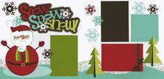 Snow, Snow, Snow! Page Kit
