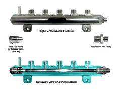C C A B B A B C E Rail High on Duramax Diesel Dry Sump
