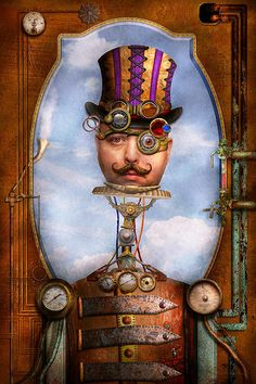 Steampunk - Integrated Poster By Mike Savad