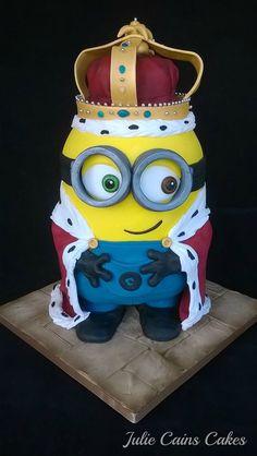 minion cakes Julie Cains Cakes