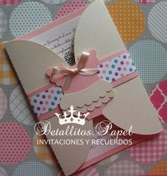 Baby Shower Invitation Onesie Invitation ballet por Detallitospapel