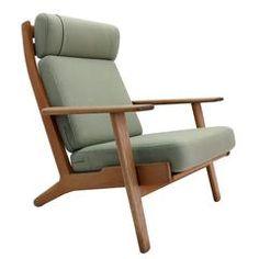 Hans J. Wegner GE 290 High Back Chair