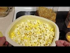 An in-depth guide for popping corn at home. Ditch the microwave popcorn and learn what it takes to make your house smell like a movie theater. Cooking Popcorn, Microwave Popcorn, Popcorn Recipes, Snack Recipes, Cooking Recipes, Cooking Videos, Yummy Snacks, Healthy Snacks, Popcorn Seeds
