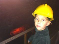 Hjontemyra JR imponeras av hur stor gruvan är