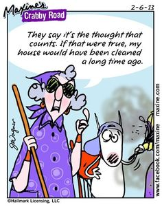 The thought counts!  Maxine.