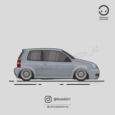 KombiT1: Volkswagen Lupo @johnnykalisfornia