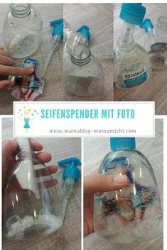 Seifenspender mit Foto selber machen
