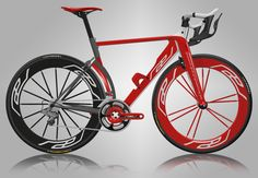 Rael Road Bike Concept 2.0 - this bike is beautiful #cycling Visit us @ http://www.wocycling.com/ for the best online cycling store.