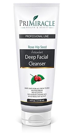 PriMiracle Deep Facial Cleanser and Face Wash with Rosehip Seed Oil for Skin 4oz *** To view further for this item, visit the affiliate link Amazon.com.