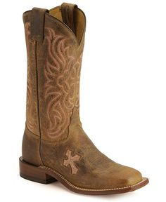 Tony Lama Cross Inlay Cowgirl Boots wow d i want these !!!!