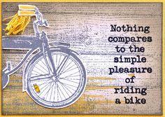 Darkroom Door Blog Bicycle Cards, Artist Trading Cards, Masculine Cards, Simple Pleasures, Atc, Stamp Sets, Messages, Doors, Blog