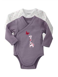 Organic Collection Pack of 2 Newborn Baby bodysuits GREY LILAC PACK+TAUPE PACK