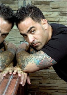 Chris Nunez-hottest tattoo artist by far!