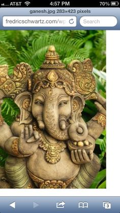 I really want a Ganesha tattoo!