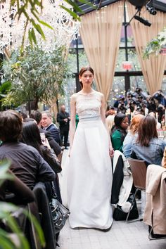 Our Spring Summer 2018 bridal collection was shown at New York City Bridal  Week 89cf79c3cd39