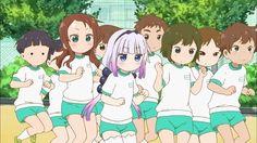 Capturas y adelanto del episodio 9 del Anime Kobayashi-san Chi no Maid Dragon.