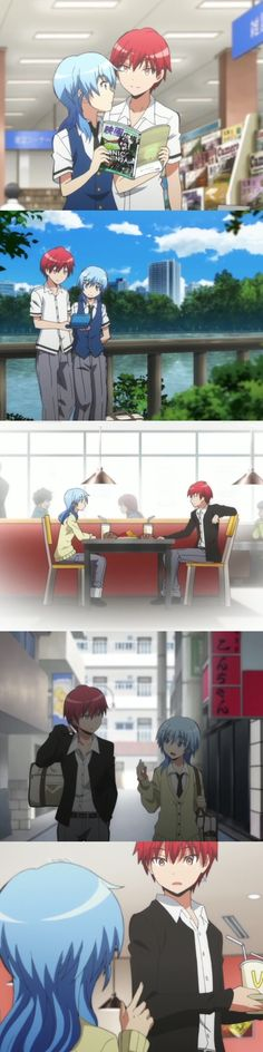 Honestly, this isn't casual. This is borderline romantic already. Just call it a date and be canon instead. - DA | Carnage Pair | KaruGisa | KaruNagi | Karma Akabane x Nagisa Shiota | Assassination Classroom