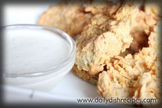 Homemade Fried Pickles with From Scratch Buttermilk Ranch Recipe